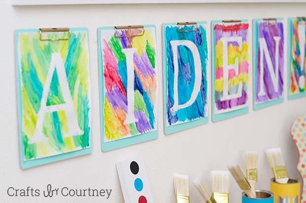 Easy Diy Kids Arts And Crafts Themed Birthday Party