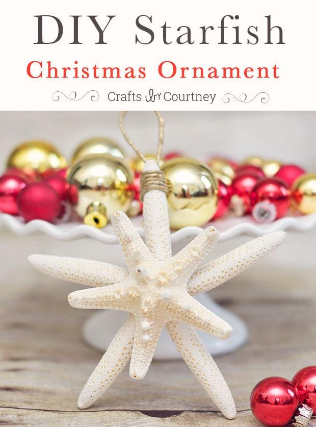 DIY Starfish Christmas Ornaments Getting Beachy With