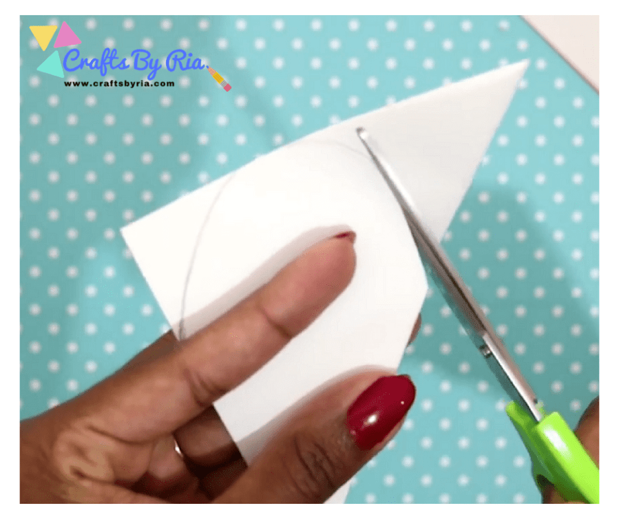 DIY VALENTINES DAY CARD- draw a heart shape