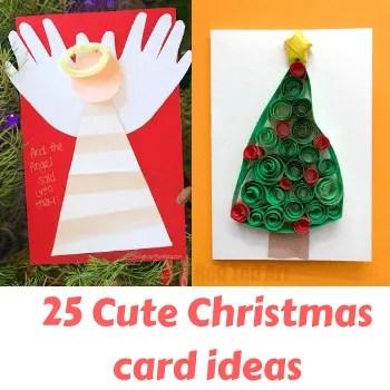 diy christmas card ideas for kids-thumbnail