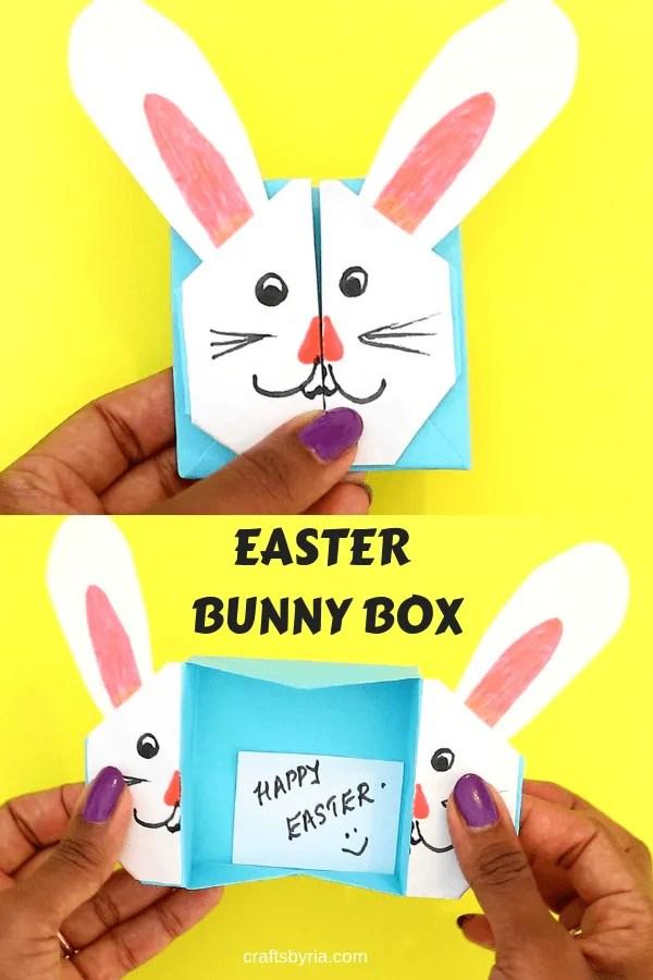 EASTER BUNNY BOX-PIN1