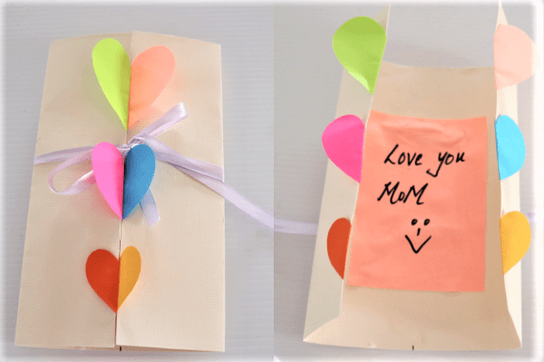 mothers day cards for kids-heart card