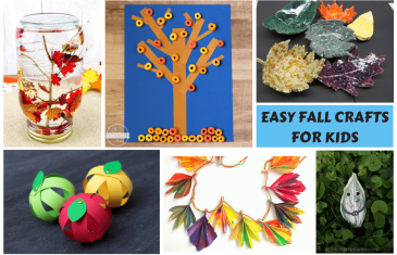 easy fall crafts for kids-FEATURED