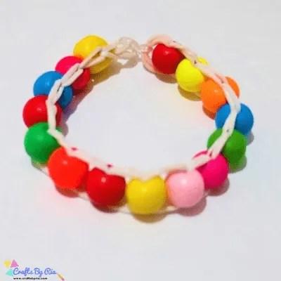 diy bracelet-summer crafts for tweens