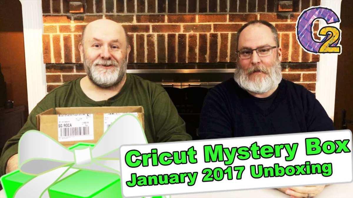 Cricut Mystery Box - January 2017 Unboxing