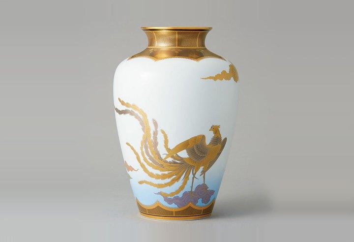 ノリタケ Masterpiece Collection 瑞雲鳳凰文 大花瓶