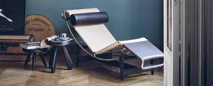 ル・コルビュジエ LC4 シェーズロング ( Le Corbusier LC4 Chaise Lounge )