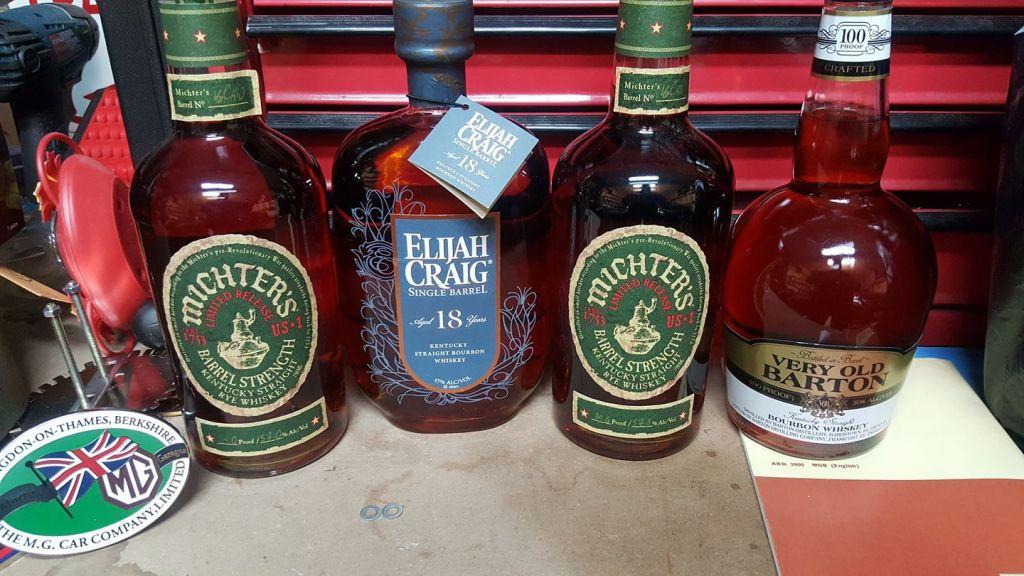 Michters, whiskey, bourbon, rye