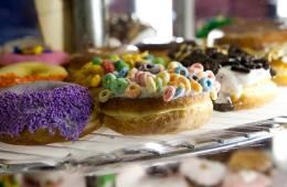 Food, Breakfast, Doughnuts