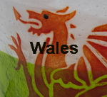 Welsh inspired glass