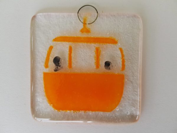 Orange Cable Car