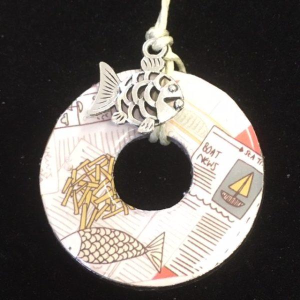 Sea theme necklace