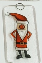 Decal Slim Santa
