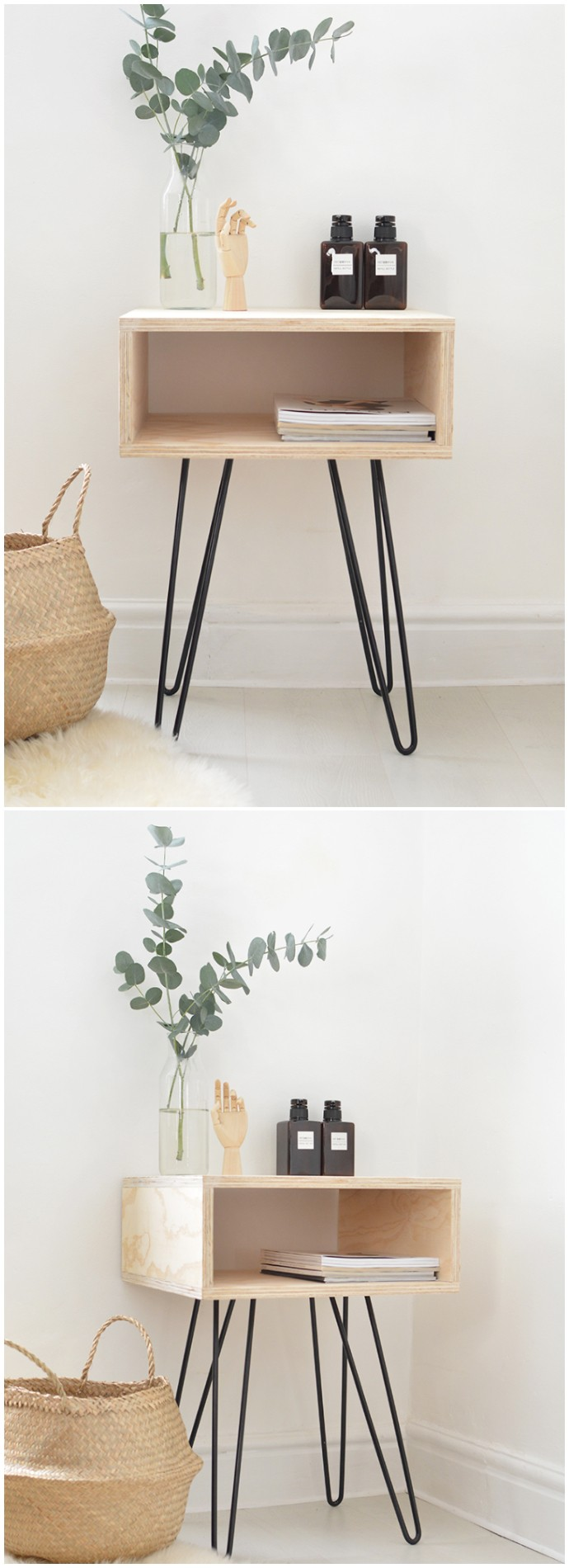 Diy Nightstand Free Plans Build Your Own Craft Ideas