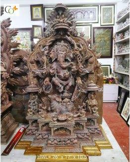 p01081-201022-soap-stone-khanja-work-lord-ganesha-statue-2-ft