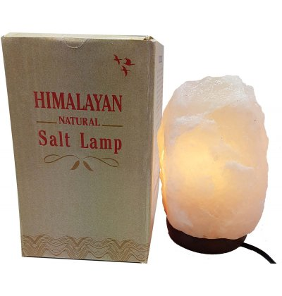 Himalayan White Salt Lamp