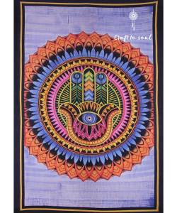 Hamsa Hand Tapestry