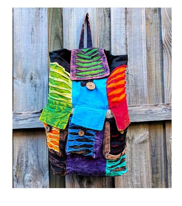 Hippie Rucksack Backpack