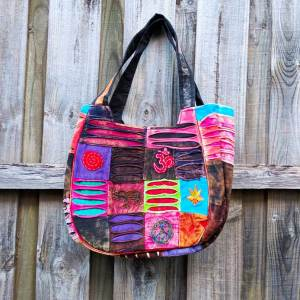 Hippie Razor Cut Tote Bag