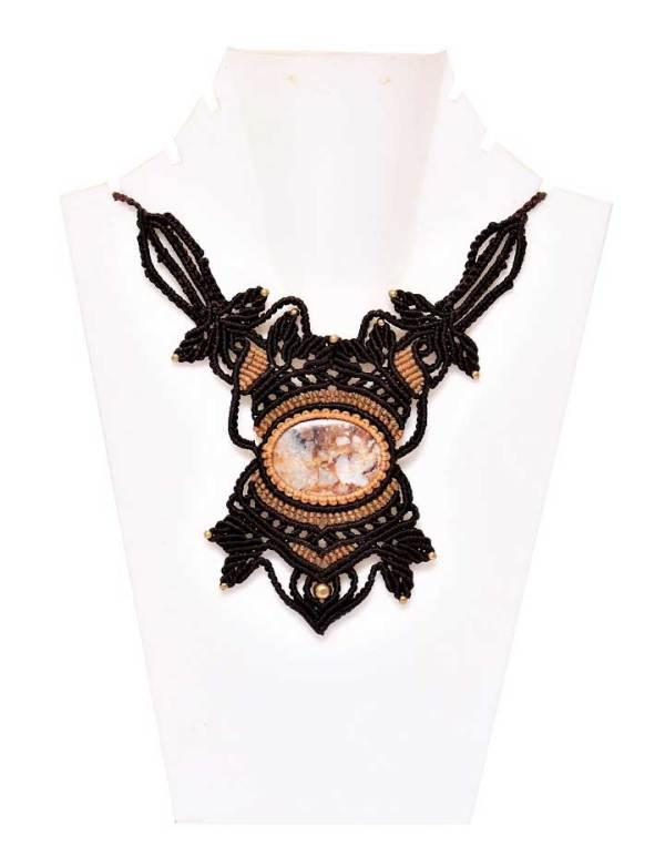 Macrame Boho Necklace