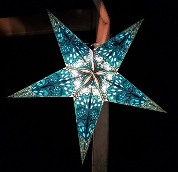 Star Lantern blue