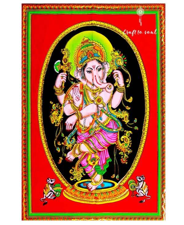 Trance Ganesha Tapestry
