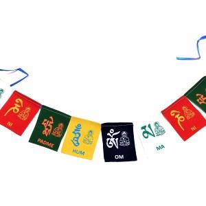 tibetan chanting flag