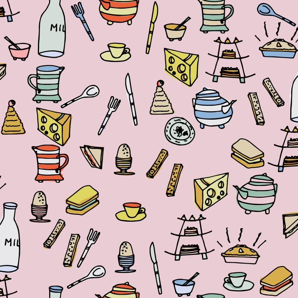Ruth Cartwright Textile designs
