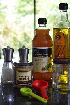 Honey and Mustard dressing recipe