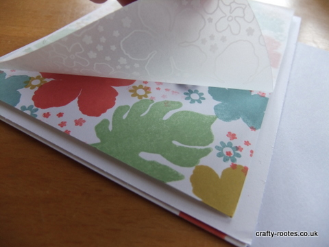 crafty-rootes.co.uk - Stampin Up Botanical Blooms and vellum