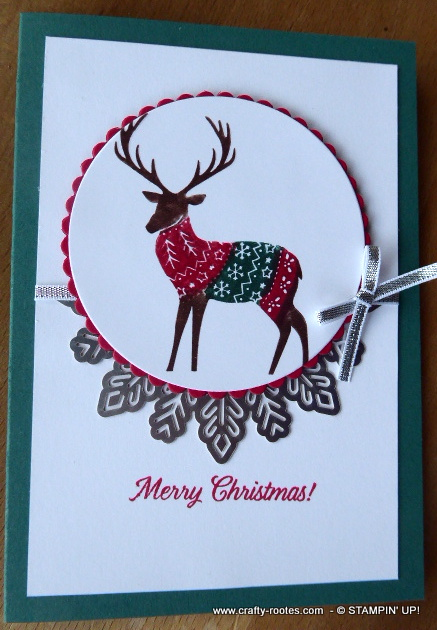 Deer image from the Merry Patterns stamps et
