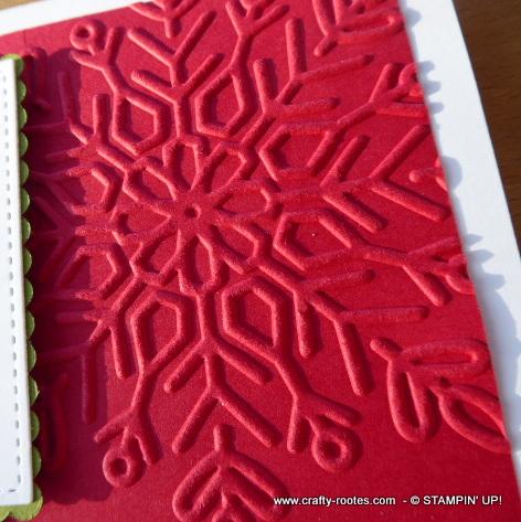 Winter Wonder embossing folder by Stampin' Up!
