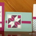 Christmas Quilt cards