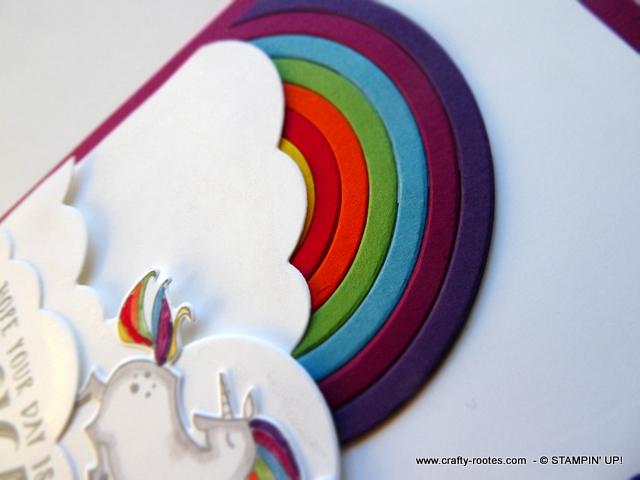 Magical rainbows and unicorns