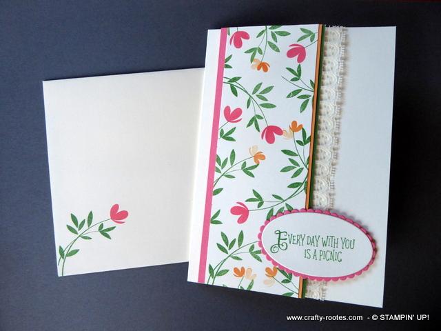 Sring flowers for a feminine card