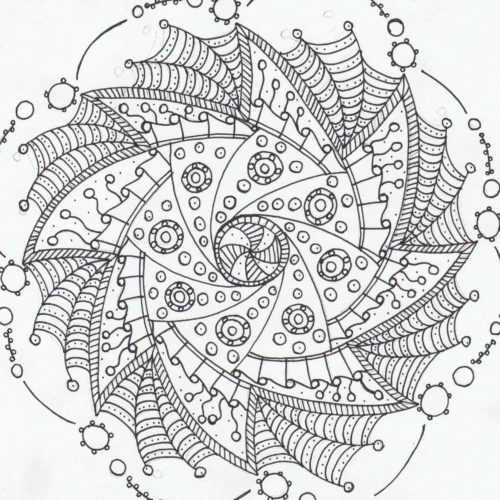 Crafty Web Mandala!