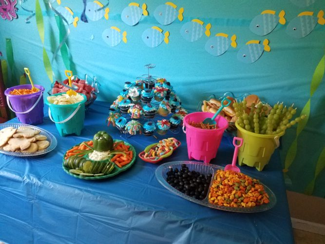 Under The Sea Themed Birthday Party!