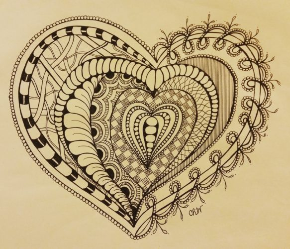 For The Love of Zentangle