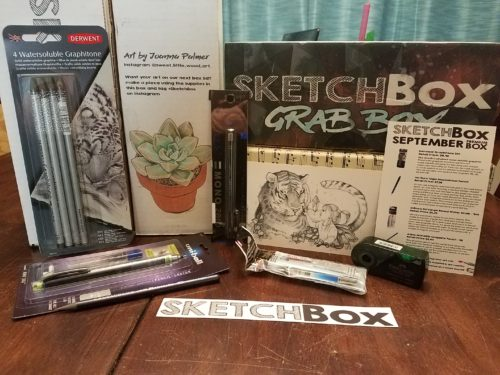 September 2017 Premium Sketchbox