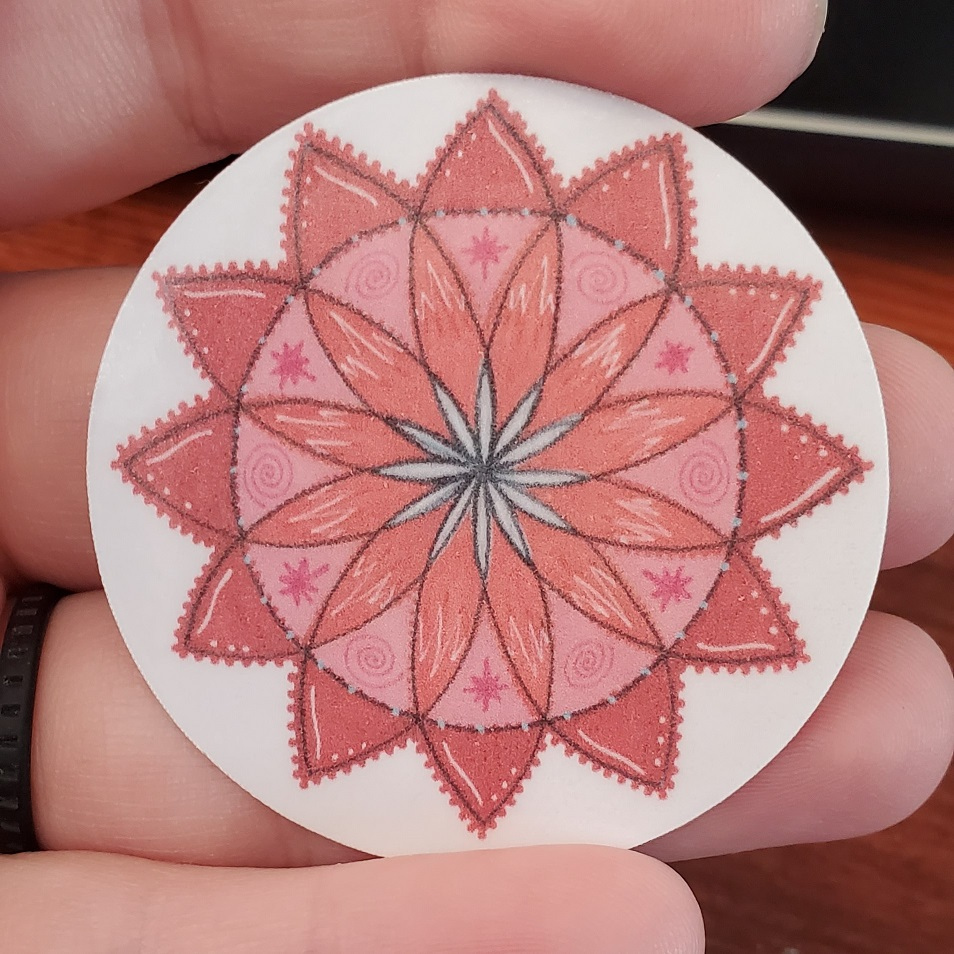 Red Star Mandala
