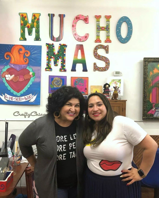 Kathy Cano-Murillo and Christina Martinez