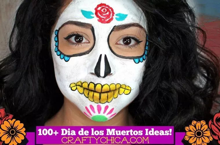 100 Day Of The Dead Craft Ideas The Crafty Chica