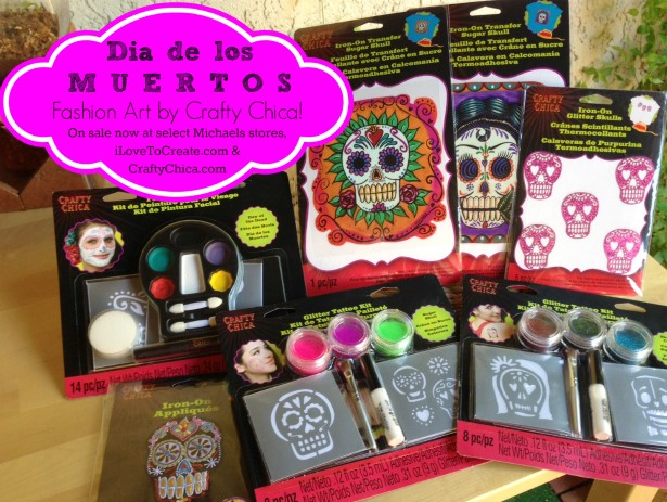 New crafty chica products at michaels crafty chica for Tattoo shops in mcallen
