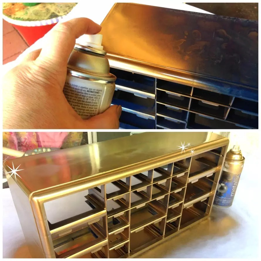 Golden Organizer Amp Tool Chest The Crafty Chica