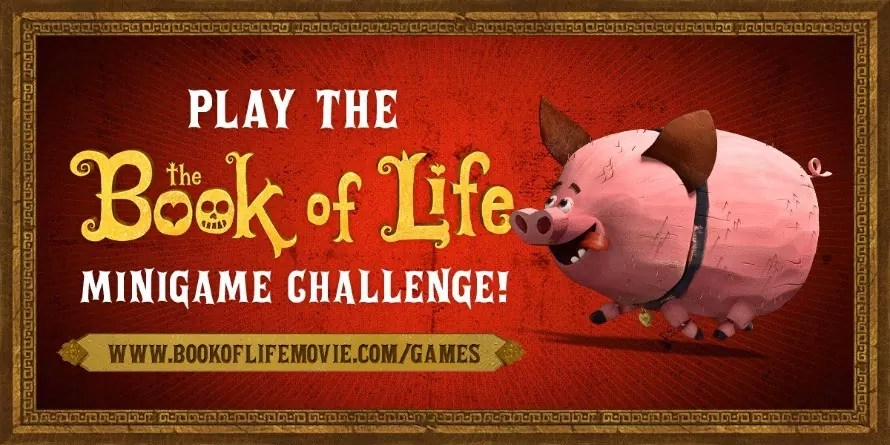 Check out BookOfLifeMovie.com for lots of activities!