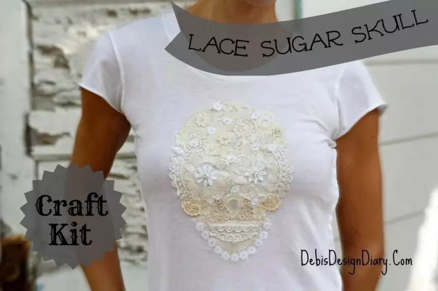 21 Ways to Make a Skull Shirt - The Crafty Chica