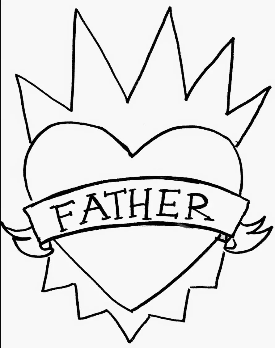 Father's Day template by Crafty Chica.