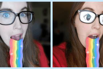 Snapchat-rainbow-puke
