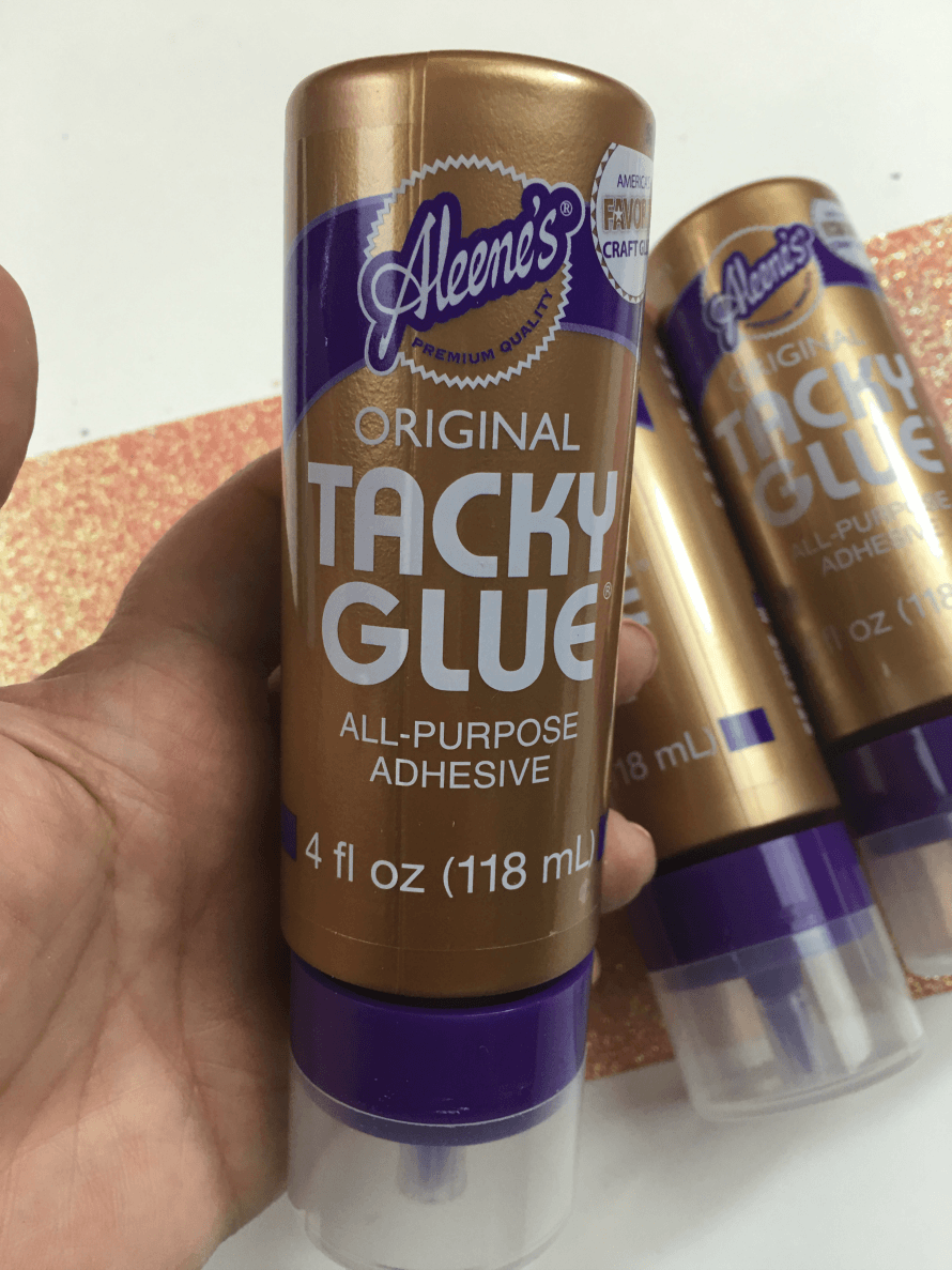 Tacky Glue to the rescue!