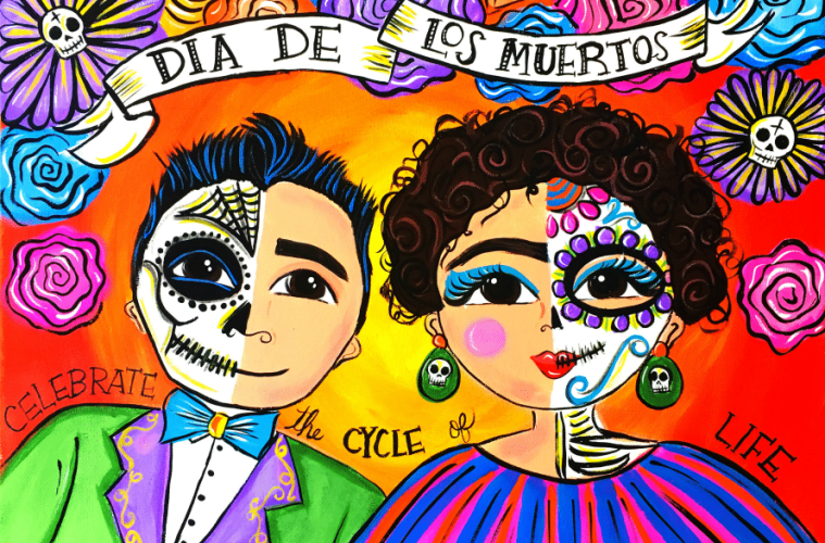 Muertos Couple by Kathy Cano-Murillo